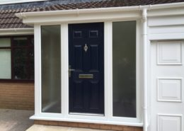 White Porch Composite Door